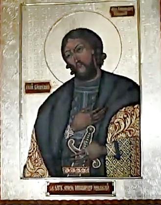 Образ Святого Александра Невского в Алупке