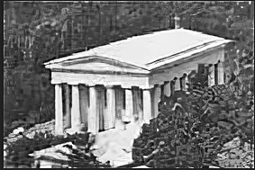Первый храм Архангела Михаила в Алупке